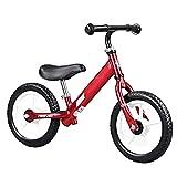 Hejok Laufrad Baby, Laufrad Baby Lernrad FüR Jungen Und MäDchen Mit Verstellbarem Lenker/Sattel & Nicht Aufblasbarem Schaumreifen (Rot)