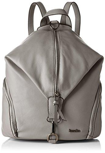 Boscha Damen Backpack Rucksackhandtasche, Grau (Grey), 17x32x27 cm