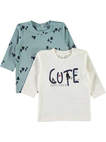 Name It Lot de 2 T-shirt à manches longues pour garçon Taille 68