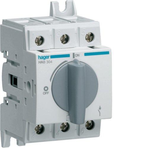 Hager HAB304 Lasttrennschalter+Trennungs anz.3P 40A