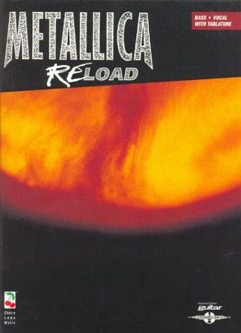 MUSIC SALES METALLICA - RELOAD - BASS TAB