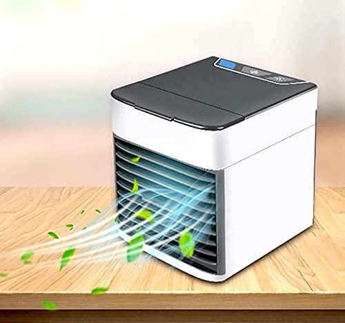 HZIXIXI Mini Condizionatori, Raffreddatore Ad Aria 4 in 1 Deumidificatore USB, 3 velocità Regolabili Climatizzatore Camper - per Dell'Ufficio Domestico