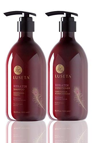 Luseta Keratin Smooth Shampoo & Conditioner Set