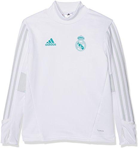 adidas Real TRG Top Y Sudadera, niños, Blanco (Blanco/gricla), 140
