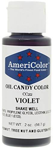 Americolor Candy Oil - VIOLET 2 OUNCE CANDY OIL COLOR