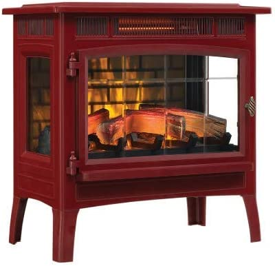 Duraflame 3D Infrared Electric Fireplace Stove with Remote Control DFI 5010 Cinnamon product image
