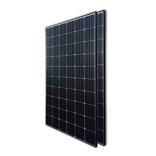 Renogy 2Pcs 300 Watt 24 Volt Monocrystalline Panel 600W Grid Large Solar System