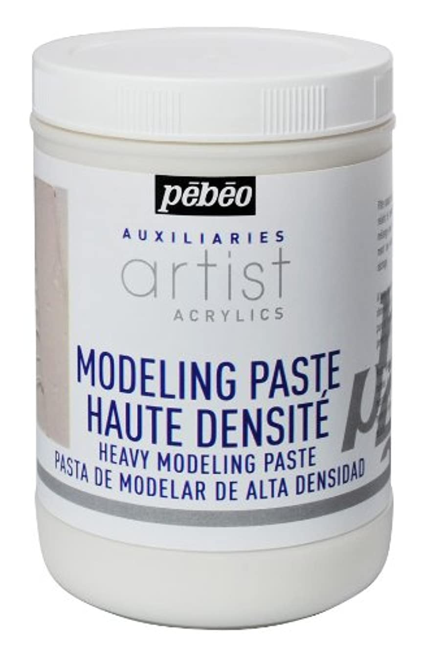 Artist Acrylics Auxiliaries Heavy Modeling Paste, 1-Liter