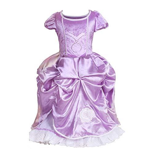 Eyekepper Sofia Princesa Vestido de Fiesta de cumpleaños de Navidad Traje 3-7 años