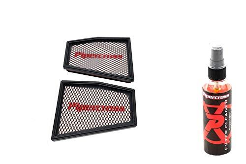 Pipercross - Filtro dell'aria + detergente compatibile con Audi A4 (RS4) 8K/B8 4.2 TFSi 450 PS 09/12-06/15
