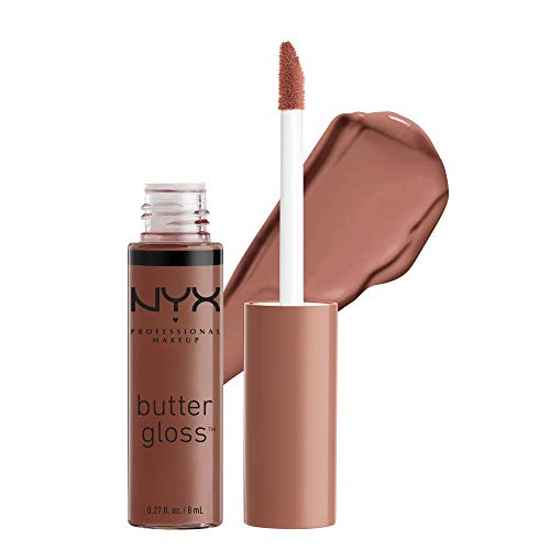 NYX PROFESSIONAL MAKEUP Butter Gloss - Ginger Snap, Chocolate Brown
