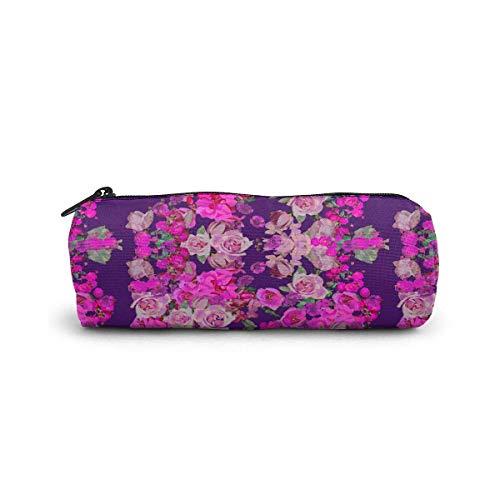Sac cosmétique rose chaud de fleur d'oeuf petit sac de maquillage de stockage de voyage sacs à main