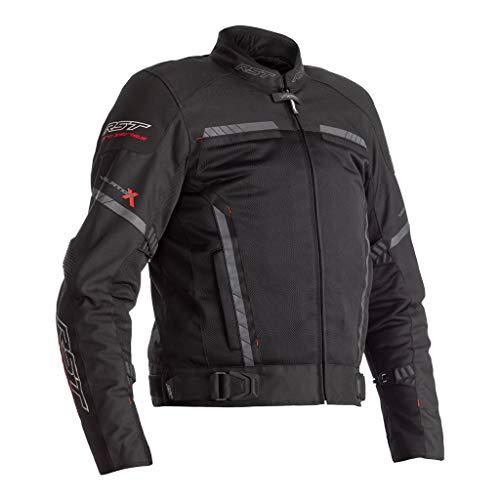 RST Pro Serie Ventilator-X CE Herren schwarze Textil Motorradjacke EU64