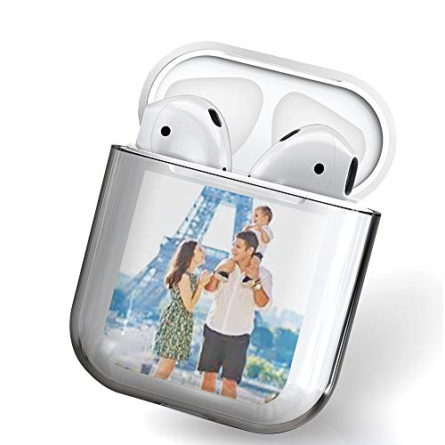 CustomCustom Personalized Protective Cover Compatible with Airpod Case 1st and 2nd Generation...