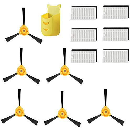 Amazing Deal Dinghosen Replacement Filter & Side Brush Accessory Kit for Ecovacs Deebot N79 N79S Rob...