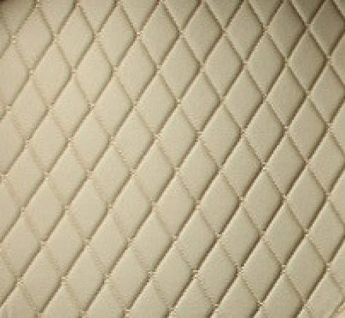 HOWEHORC voor peugeot 5008 2019 2020 accessoires 5 7 stoelen tapijt covers, Aangepaste lederen auto laars mat lading liner-beige