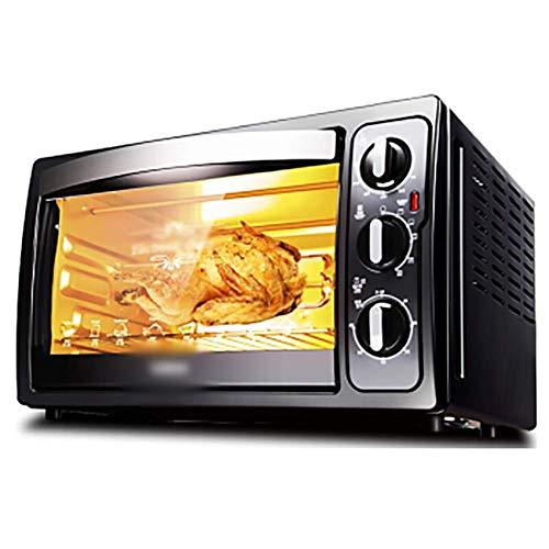 LYQ Mini-oven inclusief grill en bakplaat met grill 30 liter broodrooster met snelle opwarming, functies voor kookoven
