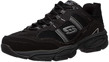 Skechers Sport Men s Vigor 2.0 Trait Memory Foam Sneaker Black 9.5 XW US