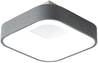 Plafoniera Quadra Led 108 : Mctech w bianco freddo plafoniera led moderna lampada da