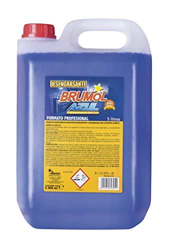 Brumol Desengrasante Azul - Paquete de 3 x 5000 ml - Total: 15000 ml