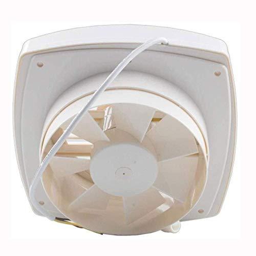 Avgasfläkt, Badrumsextrakt Fönsterfläktar med avgas och intag, Ume Extractor ventilationsfläkt, 8 tum tyst luftflöde, långvarig, lätt att installera, kodkompiniant, energi dragkedja tätning mute