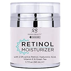 retinol moisturizer cream for face