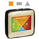 Purovi® Toldo Cuadrado | Varias Dimensiones | Protección UV | PES Impermeable | 3 x 3 m