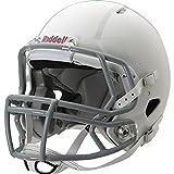 Riddell Youth Speed Football Helmet, White/Gray, Large