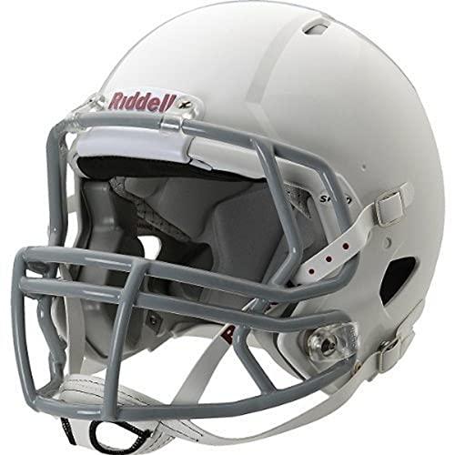 Riddell Youth Speed Football Helmet, White/Gray,...