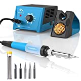 Soldering Station, 65W Tilswall Solder Station Welding Iron with Smart Temperature Control...