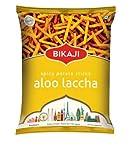 Bikaji Alu Laccha - Palitos de patata picantes (180 g, 3 unidades)