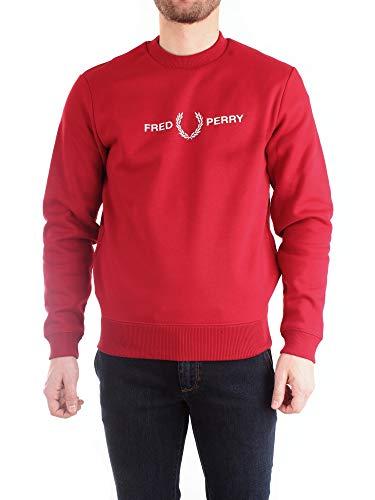Fred Perry M7521 Sweatshirt Harren RED XXL