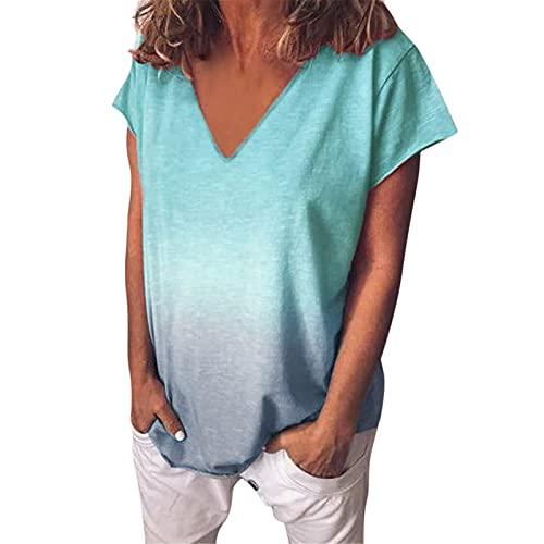 Tunika Rot Damen Sommershirt Damen College Skirt Shirts Sommer Sexy Hand Scrub Frauen T-Shirt Kleidung Hemdbluse Blusenshirt Damen Tunika Kleid Damen