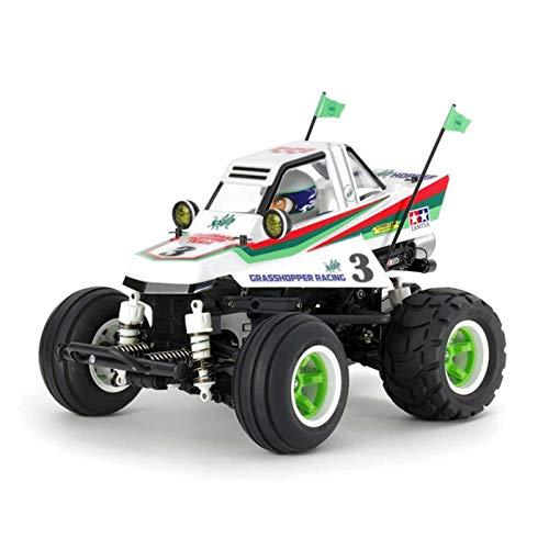 TAMIYA 58662 - 1:10 RC Comical Grasshopper WR-02CB, ferngesteuertes Auto/ Fahrzeug, Modellbau, Bausatz, Hobby, Basteln, Modell, Zusammenbauen