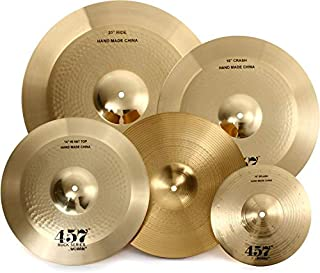 Wuhan 457 Rock 3-Piece Cymbal Pack with Free 10 Inches Splash