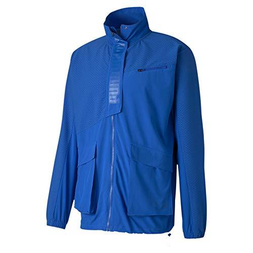 PUMA Train First Mile Mono Jacket, Pullover Uomo, Lapis Blu, L