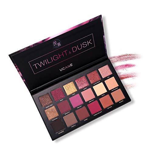 Beauty Glazed New Nude Lidschatten-Palette Die 18 Farben Matte Shimmer Glitter Multi-Reflective...