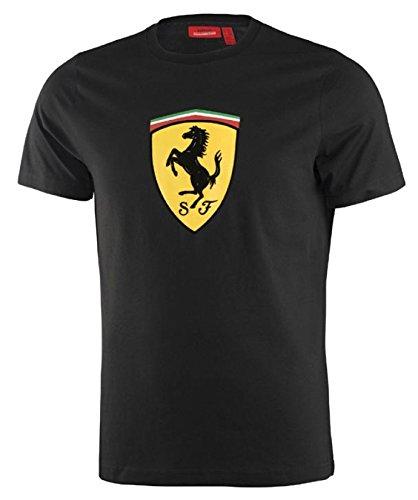 Scuderia Ferrari Camiseta Clásica Negra