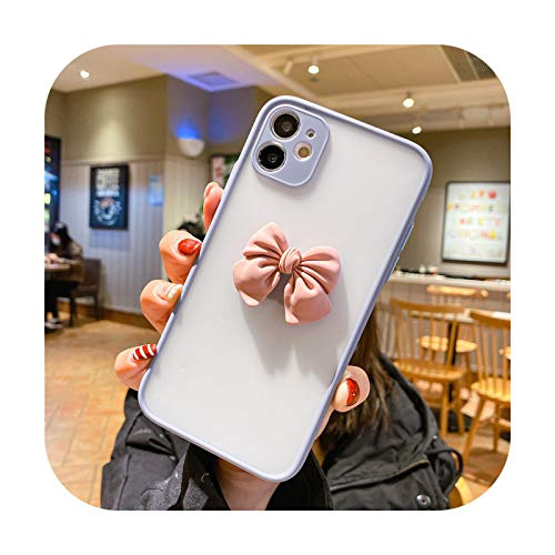 Cuty-girl Funda de teléfono para Huawei Mate 40 Pro Mate 20 30 Pro P40 P30 P20 Pro P20 Lite 2019 P Smart Z Lindo lazo esmerilado Back Cover Estilo 1-Para P30 Pro