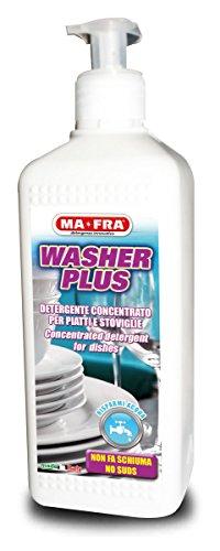 Wasmachine Plus – suds-free wasmiddel voor gerechten
