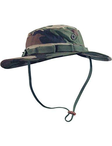 Boonie Hat Buschut GI Army Tropen Hut Camouflage Woodland M