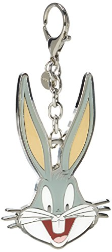 Codello Damen 62061201 Schlüsselanhänger, Grau (light Grey), 5x10x1 cm