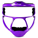 Champion Sports Magnesium Softball Face Mask - Lightweight Masks for Adults - Durable Head Guards - Premium Sports Accessories for Indoors and Outdoors - Purple