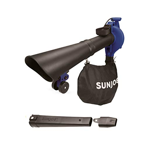 Sun Joe SBJ605E-SJB Joe Leaf Blower, Blue