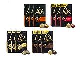 L'OR Espresso Café Espresso paquete de amante - Nespresso® * Cápsulas de café de aluminio compatibles - 12 paquetes de 10 cápsulas (120 bebidas)