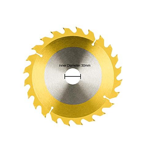 Hoja de sierra 205-300mm TCT de corte de tct titanio recubierto de titanio de sierra circular herramientas de madera de carburo disco de corte de madera con punta de carburo-205x30x40t