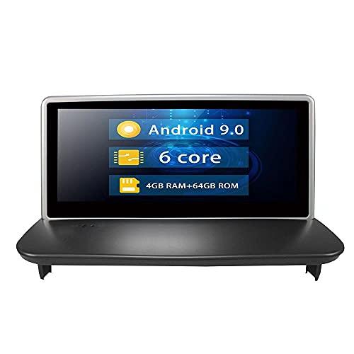 ROADYAKO 8.8Inch Head Unit Navegación GPS para automóvil para Volvo C30 S40 2004 2005 2006 2007 2008 2009 2010 2011 Radio Estéreo para automóvil Centro de Video WiFi RDS 4G SWC FM Am Android 9.0