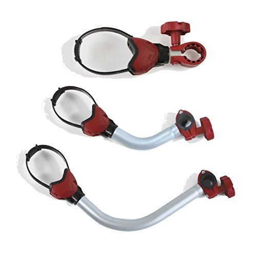 Fiamma Bike Block Pro 1, 2 und 3 - rot - Fahrradhalter- Set