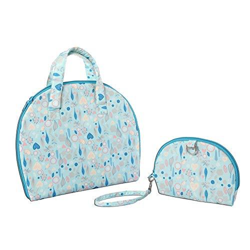 ZHANGXJ Pañal Moda Multifuncional Cambiador Portátil de Pañales para Bebé Impermeable Kits para Cambio de Pañales Cambiador de Viaje Colchones Plegables para Cambiador Bolsillo (Color : A)