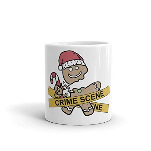 Maureen52Dorothy Lebkuchen-Tasse, Bauernhaus-Tasse, Weihnachts-Kaffeetasse, lustige Weihnachts-Tasse, Urlaubstasse, Kriminal-Tasse, Geschenk für Ihn, 325 ml